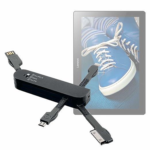 DURAGADGET Multi-Cargador Rosa para Tablet Lenovo Tab 2 A10 ...