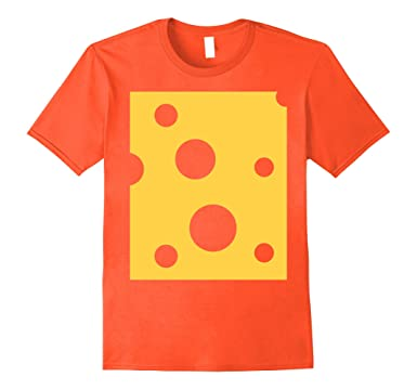 mens cheese cute cheap halloween costume matching wine shirt 2xl orange