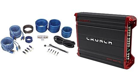 Amazon package crunch pzx12004 1200 watt 4 channel powerful package crunch pzx12004 1200 watt 4 channel powerful car audio amplifier rockville keyboard keysfo Image collections