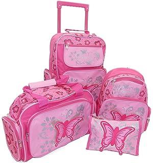 STEFANO Kinder Reisegepäck Einhorn Unicorn Set Pink mit