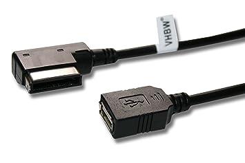 Cable AMI para conexión de un USB-Stick, pendrive con sistemas multimedia (MMI) de sistemas de audio.: Amazon.es: Informática
