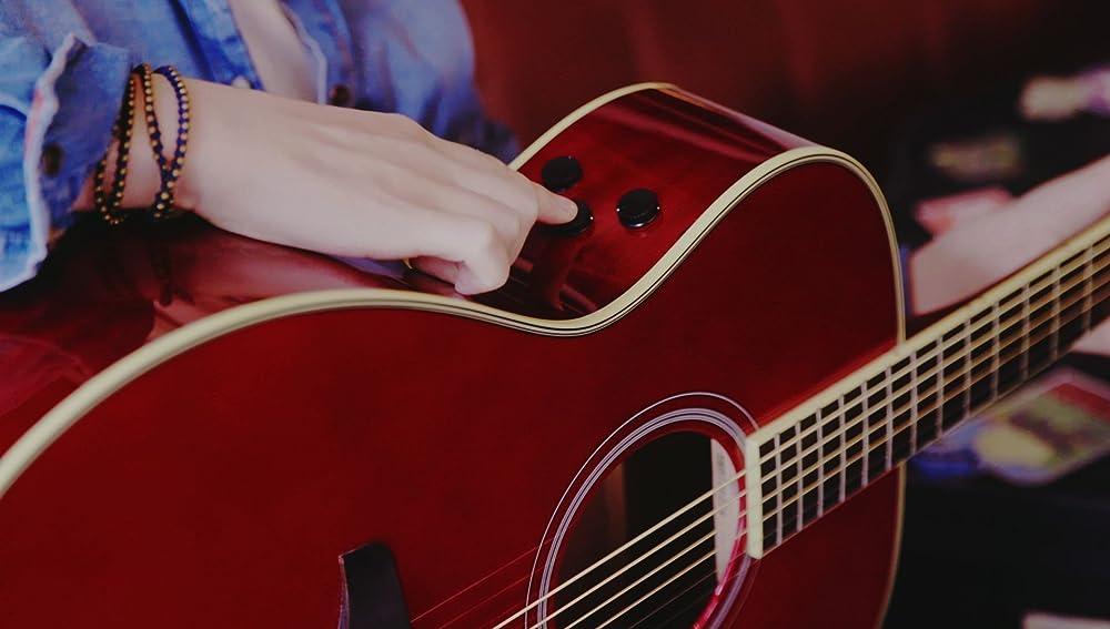 トランスアコースティックギターの操作