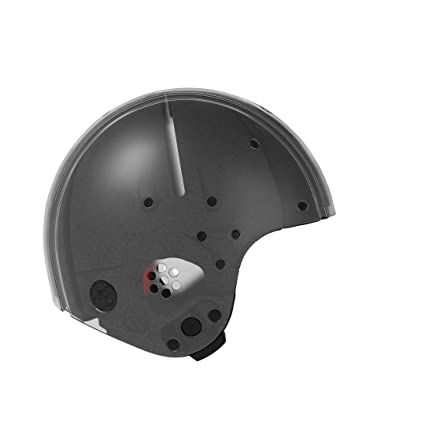 Egg 12022 Casco Medio Transparente Universal de Multi Sport de casco, Medium/transparente