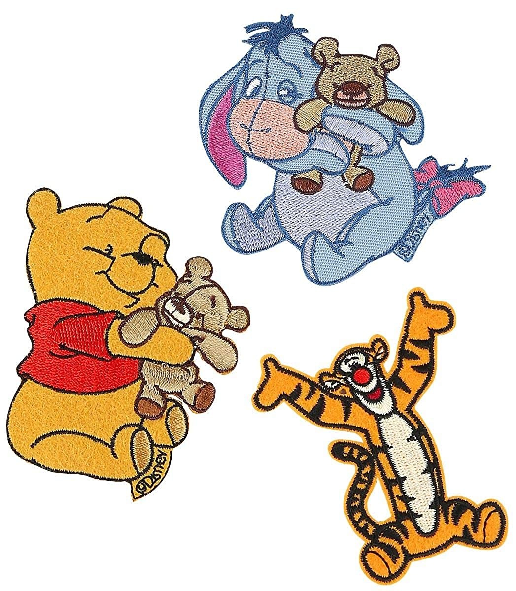 Winnie the Pooh Patch-Set Patch Mehrfarbig