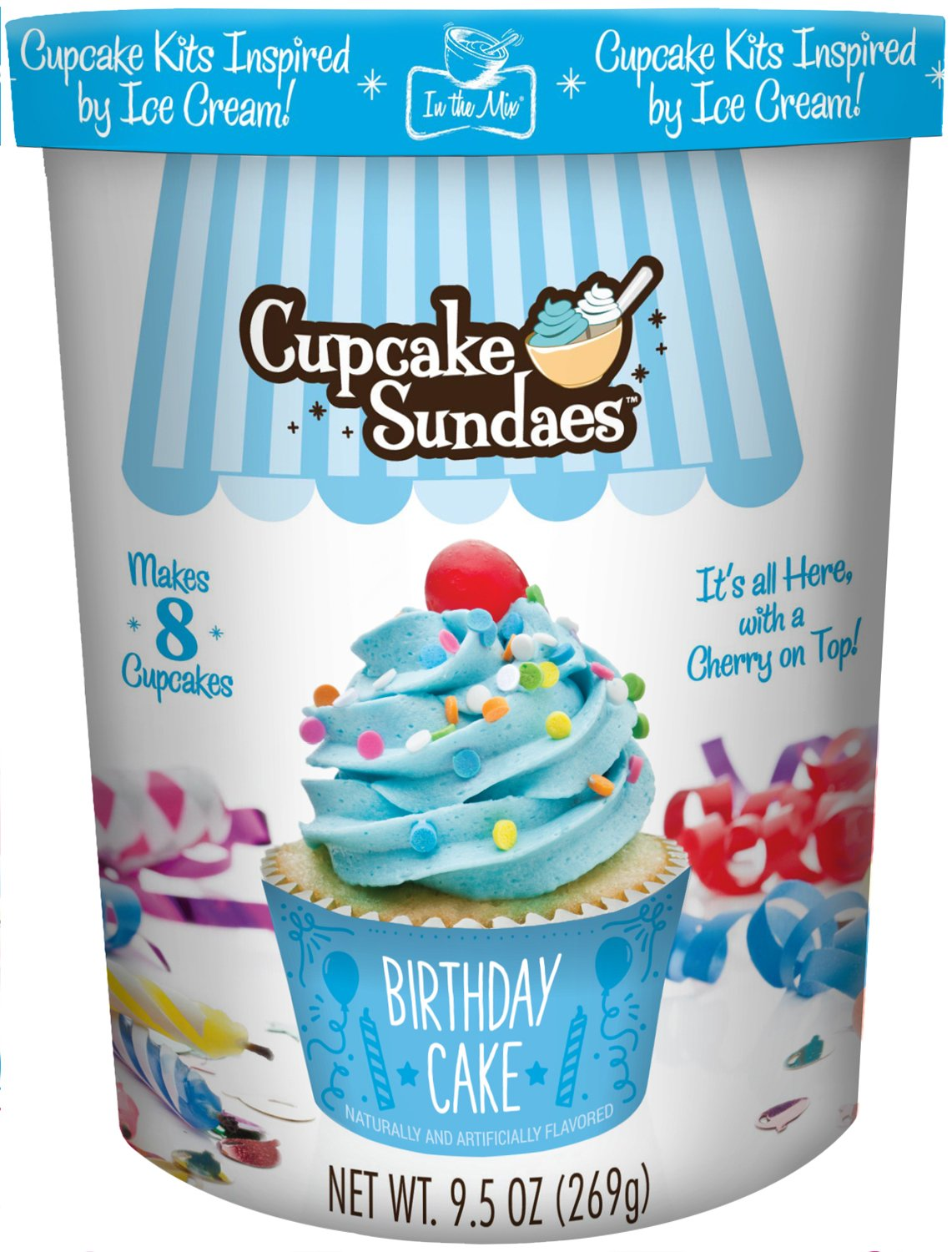 Amazon In The Mix Cupcake Sundaes Birthday Cake Kit 95 Ounce Grocery Gourmet Food