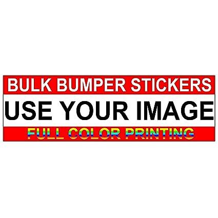 Amazon Com Custom Bumper Stickers Bulk Bumper Sticker
