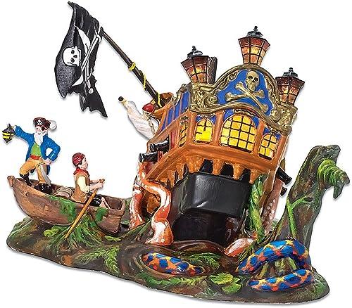 Department 56 Ship of Sea Phantoms Halloween Village Pirate Ship Accessory Figurine
