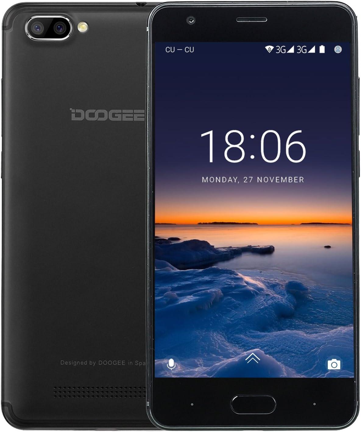 Doogee - Smartphone Libre Android (Doogee X20 Negro): Amazon.es ...