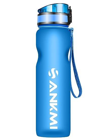 Deporte botella de agua, con un solo clic abierto a prueba ...