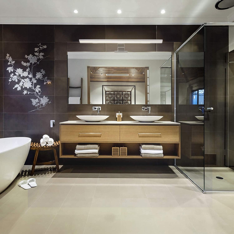 4000 K Wowatt Lámpara LED para espejo de baño lámpara de ...