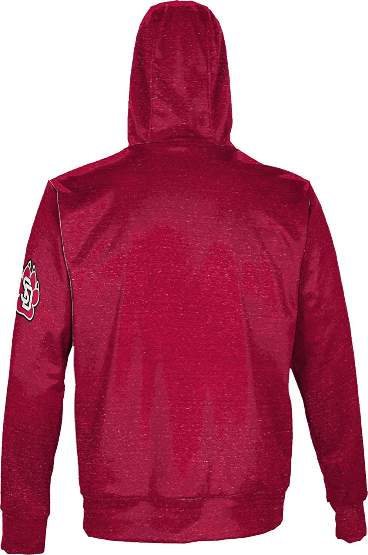 University of South Dakota Mens Pullover Hoodie Heathered School Spirit Sweatshirt