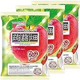 マンナンライフ 蒟蒻畑りんご味 25g×12個×3袋