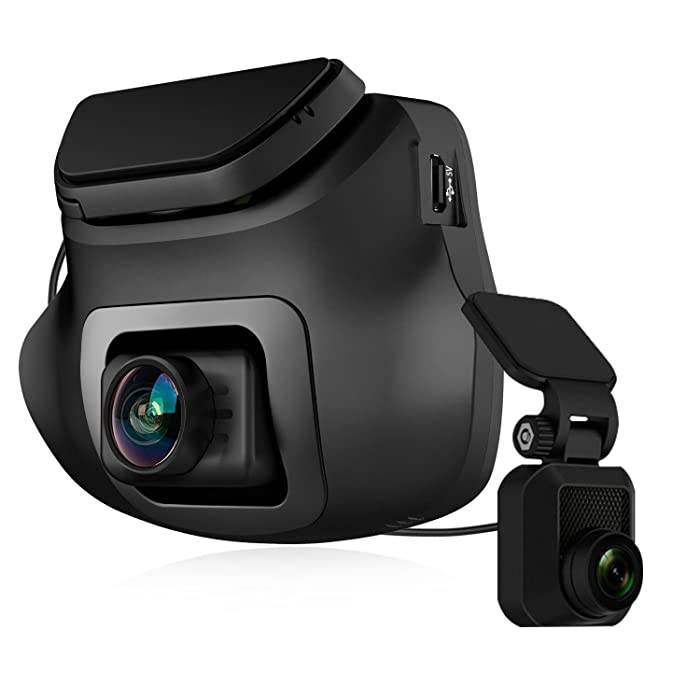 Dual Dash Cam, Z-Edge S3 Ultra HD 1440P Front & 1080P Rear 150 Degree Wide Angle Dual Lens Car Camera, Front and Rear Dash Cam, Dashboard Camera with G-Sensor, WDR, 16GB Card Included