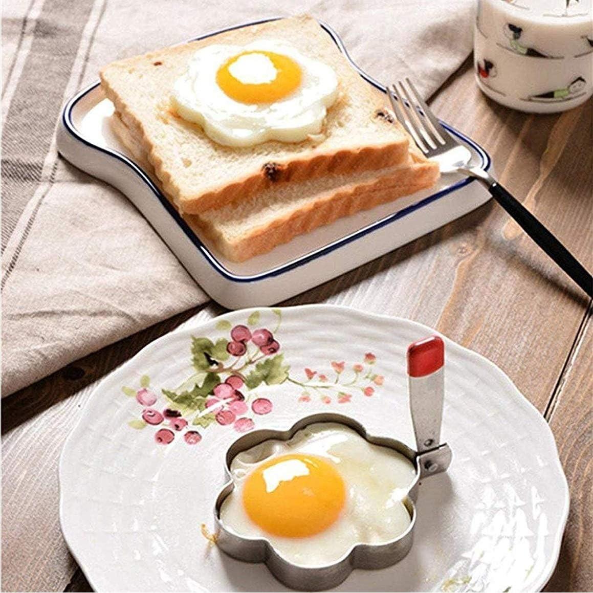 Amazon.com: Anillos de huevo de cacahuete con asa, 8 moldes ...