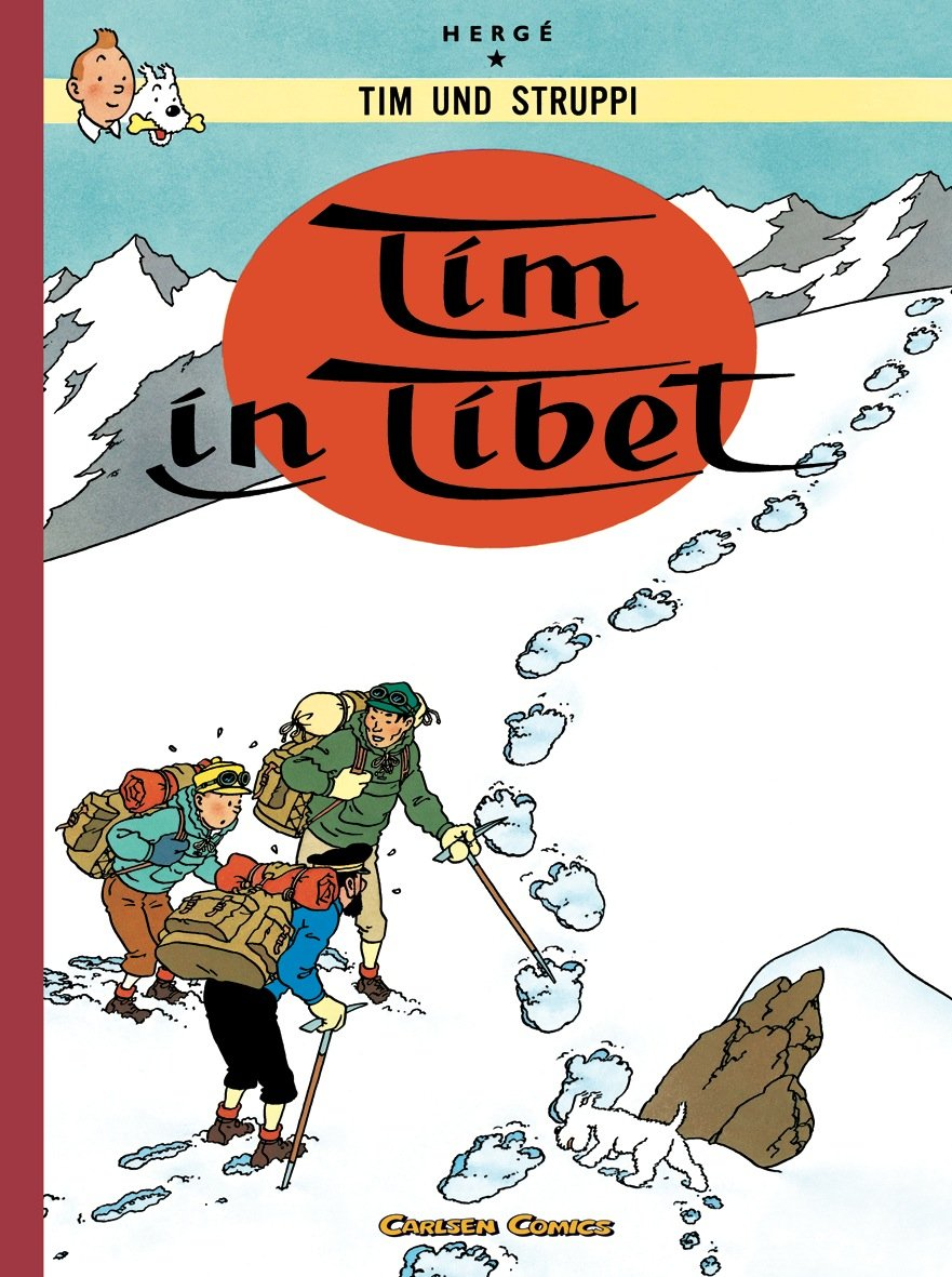 Tim & Struppi Farbfaksimile, Band 19: Tim in Tibet