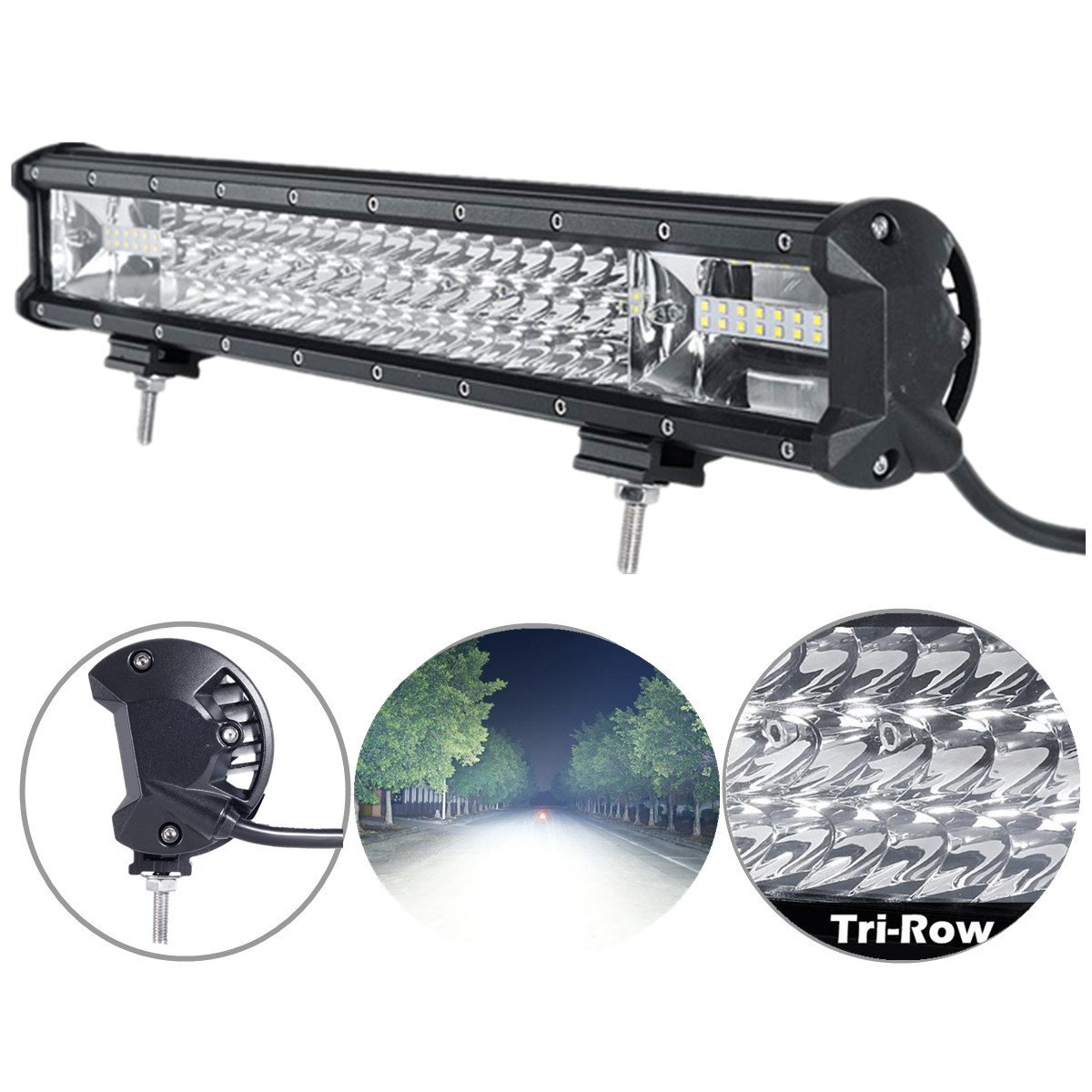 TRIPLE-ROW LED Light Bar
