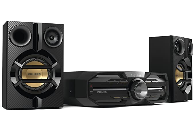 Philips FX15/12 - Microcadena (180 W, NFC, USB, Bluetooth), color negro: Amazon.es: Electrónica