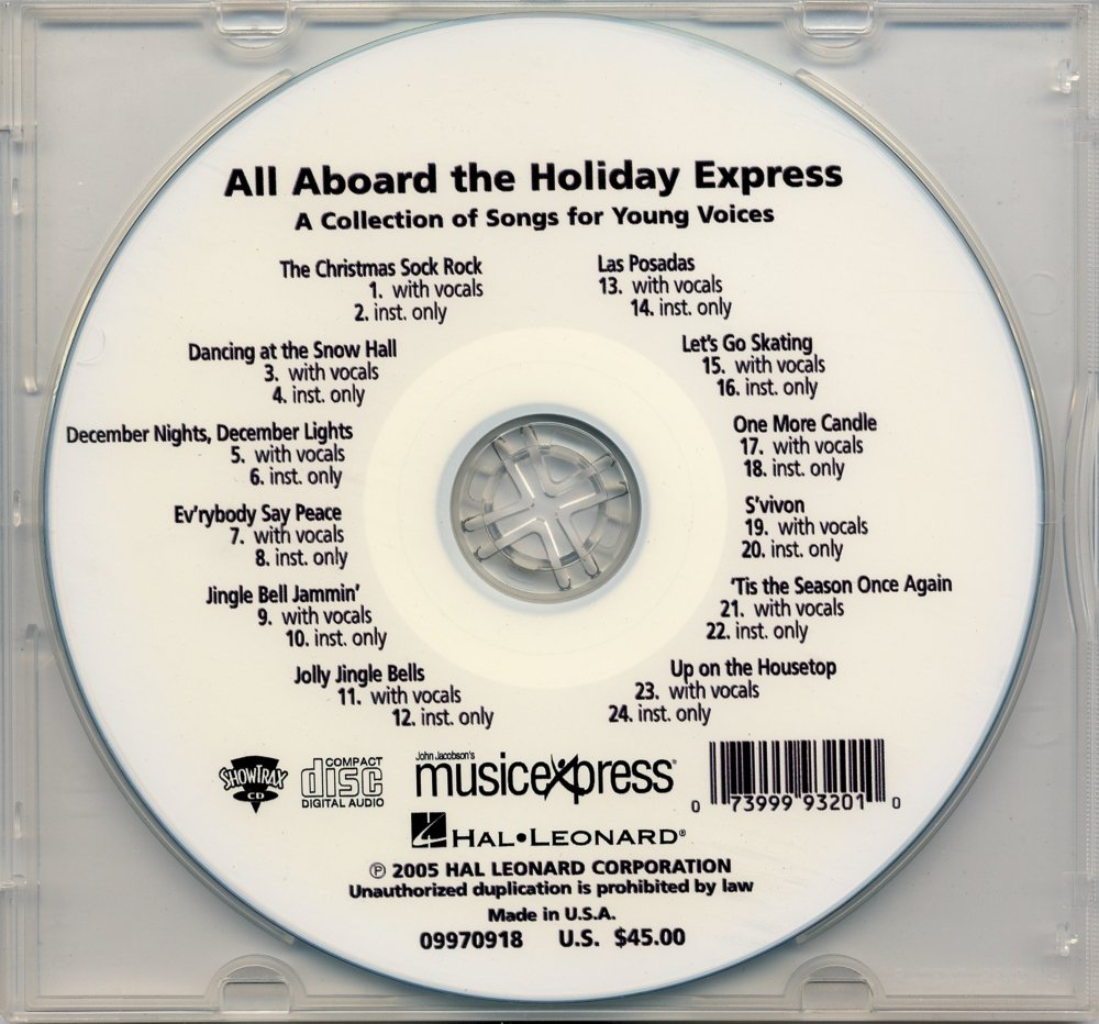 Hal Leonard All Aboard the Holiday Express Sheet music B001E1GWD8 9970918