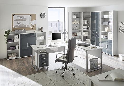 Komplettes Arbeitszimmer Buro Mobel Set Komplettset Office Lux In