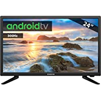 TV LED INFINITON 24¨ INTV-24 300Hz Android TV - Smart TV - WiFi - HDR USB HDMI