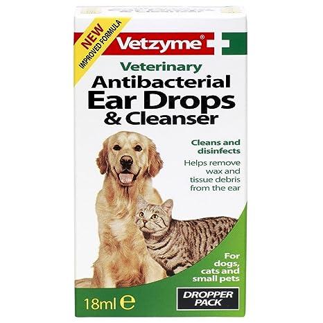 Vetzyme Antibacteriano Mascota Gotas Para El Oído & Limpiador