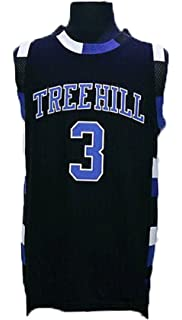 Black Friday Mens #3 Lucas Scott One Tree Hill Movie Basketball Jersey Embroidered and Stitched