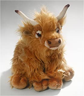 Cow, Highland Cow, 11 inches, 28cm, Plush Toy, Soft Toy,