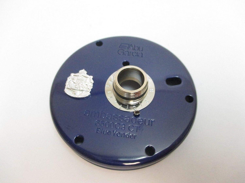 Abu Garcia リールパーツ 24980 Amb 6500 C3 CT (09-01) - 左側プレート ブルー Yonder   B07K2KYM3S
