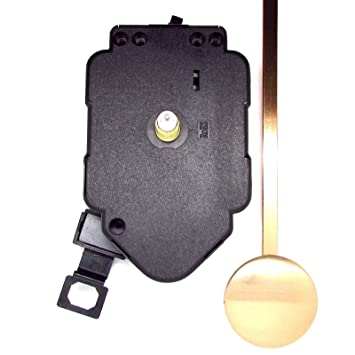 Kit Quartz completo para fabricar un reloj de péndulo con manecillas de metal negro, negro, 76mm Black Hands: Amazon.es: Hogar