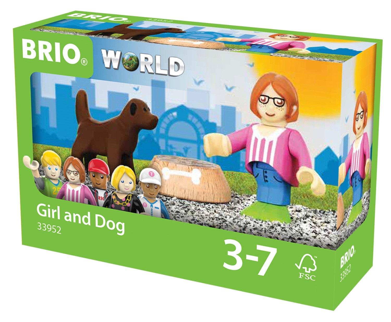 BRIO World - Village Figure and Dog 33952