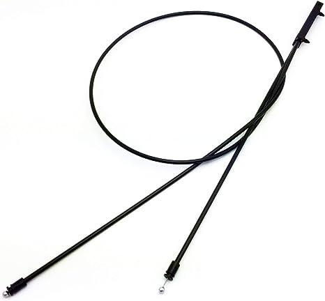 ZM Hood Release Cable for BMW 528i 535d 535i 550i 640i 650i 740i 750i And More Models 51237183773