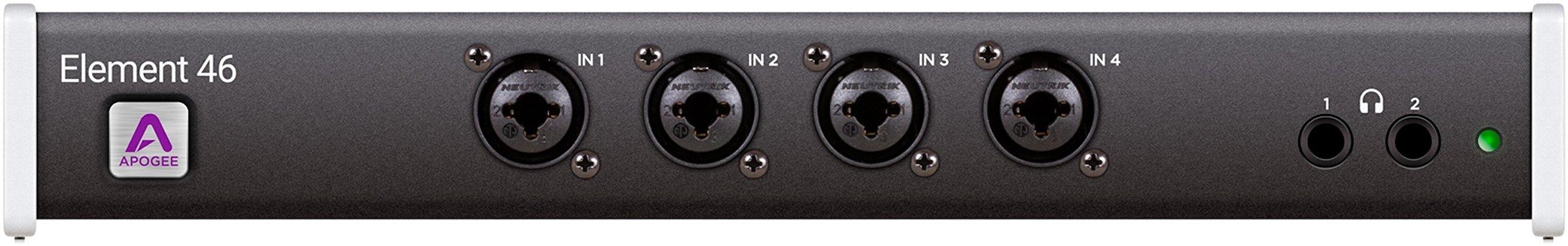 Apogee ELEMENT 46 Thunderbolt Audio Interface