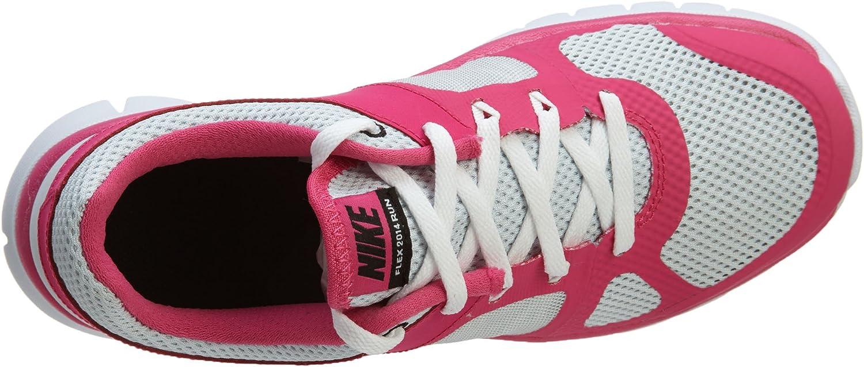 Nike Flex 2014 RN (GS), Zapatillas de Running para Niñas, Plateado ...