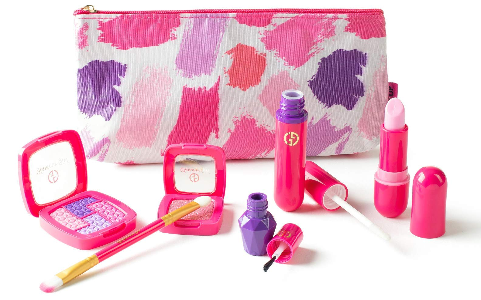 Pretend Play Makeup Starter Set from The Exclusive Glamour Girl Collection (Made from EVA Foam - Not Real Makeup)