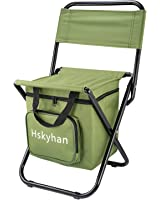 Kid's Camping Chairs Folding Backpack Chair , Outdoor Ultra-light Portable Storage By Hskyhan