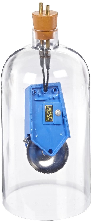 EISCO Acrylic Bell in Vacuum Jar, 4-6V DC