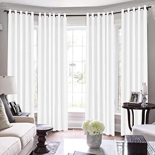 TWOPAGES Extra Long Drapes Heavy Curtains French Window Loft Drape