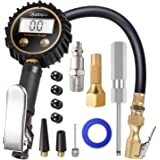 AstroAI ATG250 Digital Tire Inflator with Pressure Gauge, 250 PSI Air Chuck and Compressor Accessories Heavy Duty with…
