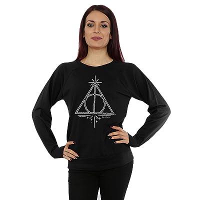 f1aa3b1f0cc Harry Potter Femme Deathly Hallows Symbol Sweat-Shirt