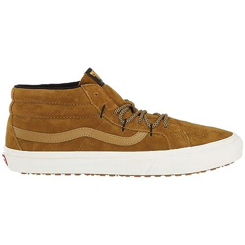 b13676ac579 Vans Sk8 Mid Ghillie MTE Trainers Tan  Amazon.co.uk  Shoes   Bags