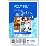 Poly-Fil Premium Fiber Fill l For Pillow, Dolls, Stuffed Toys and Crafts