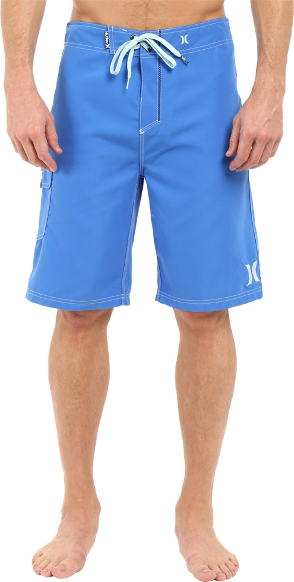 Hurley Men's One and Only 22'' Boardshorts Fountain Blue Swimsuit Bottoms by Hurley