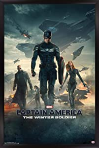 Trends International Marvel - Captain America - The Winter Soldier - One Sheet Wall Poster, 14.725