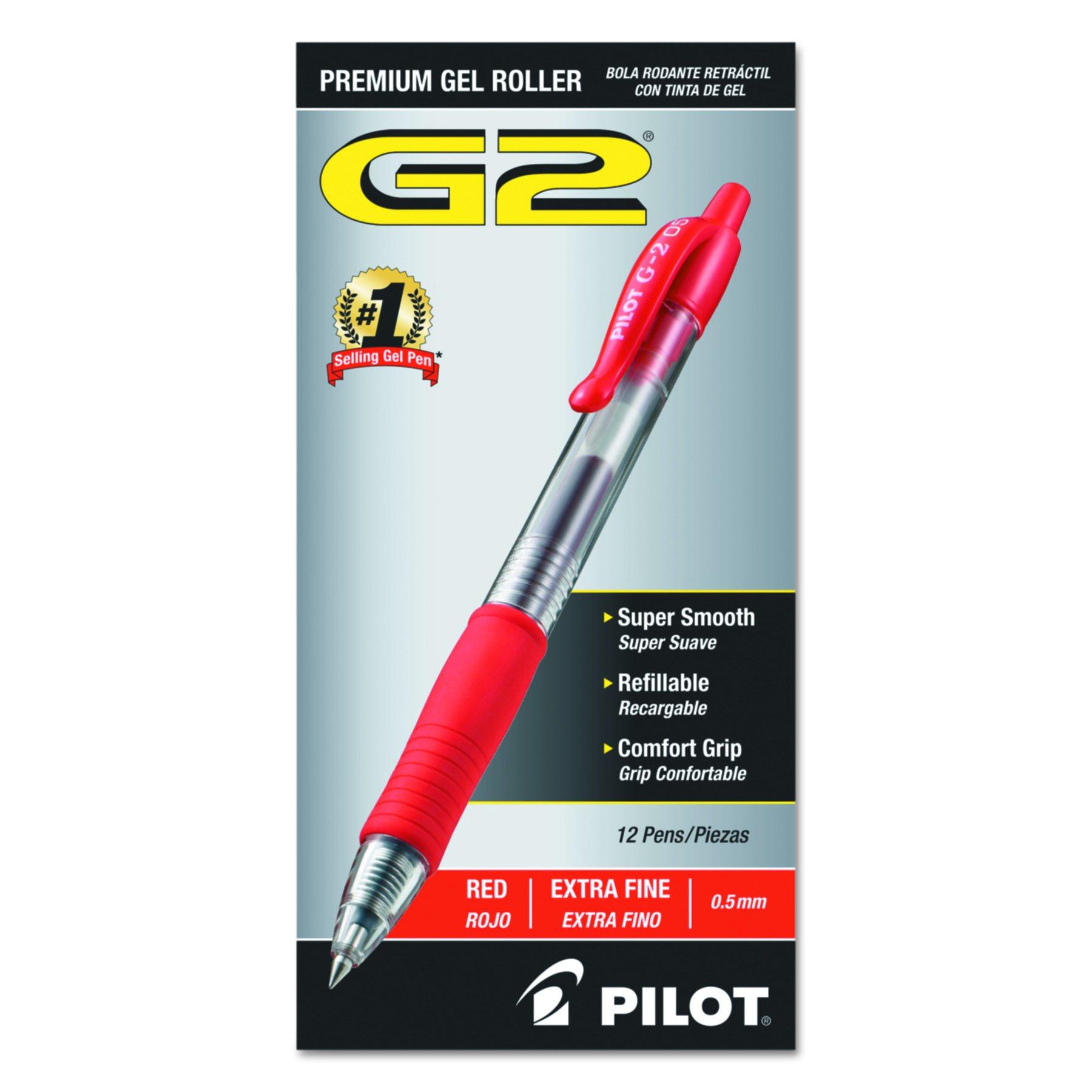 Pilot G2 Retractable Premium Gel Ink Roller Ball Pe [006OKXWK]