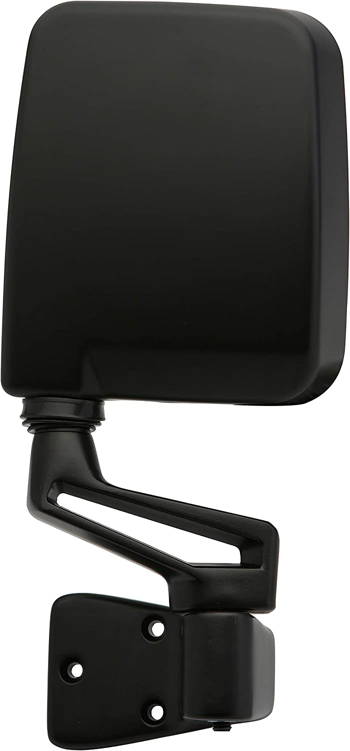 Dependable Direct Driver and Passenger Side Black Non-Heated Folding Door Mirrors for Jeep Wrangler 1994 1995 1996 1997 1998 1999 2000 2001 2002