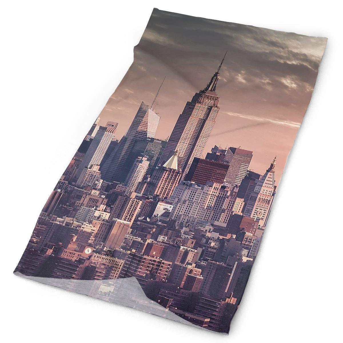 Bikofhd Cintas para la Cabeza Ciudad de Nueva York Pañuelo Bandana ...