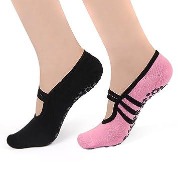 Amazon.com : HARAVAL Yoga Socks Non Slip for Women Girls ...