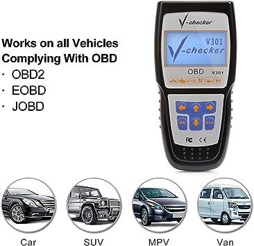 KW680 CAN OBDII OBD2 EOBD Car Code Reader Diagnostic Scan Tool Fault Scanner