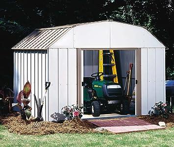 Arrow Shed LX108 A Lexington 10 Feet By 8 Feet Steel Storage Shed