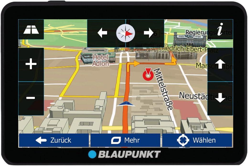 """5/"""" Navigation Bluetooth Blaupunkt Travelpilot 54 CE LMU Centraleuropa Karte"""